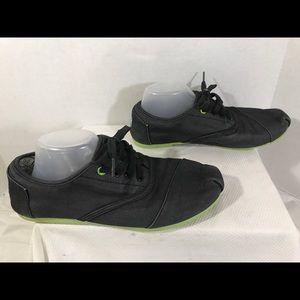 Wmn's Sz 10 TOMS Canvas Tennis Shoes#A99